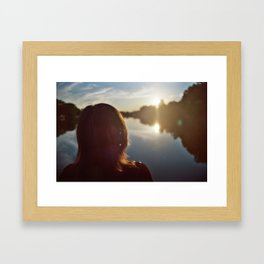 Final Distance II Framed Art Print