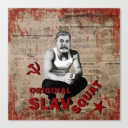 Original Slav Squat - Stalin Canvas Print