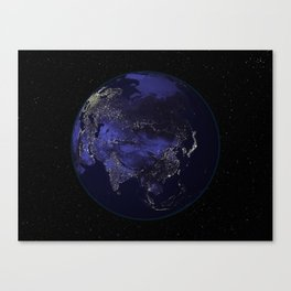 Our World 2 Canvas Print