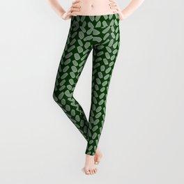 Forest Green Knit Leggings