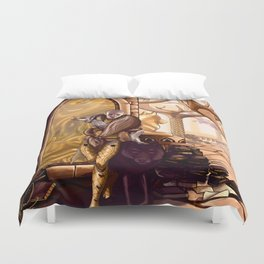 Solas leaves Lavellan Duvet Cover