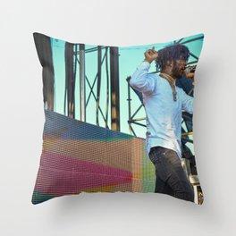 Lil Uzi Vert Live Throw Pillow