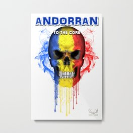 To The Core Collection: Andorra Metal Print