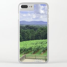In Wine Country Clear iPhone Case
