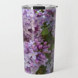 Lilac ~ Periwinkle Travel Mug