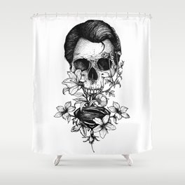 World Finest Series. God Shower Curtain