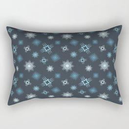 Winter Constellation Rectangular Pillow