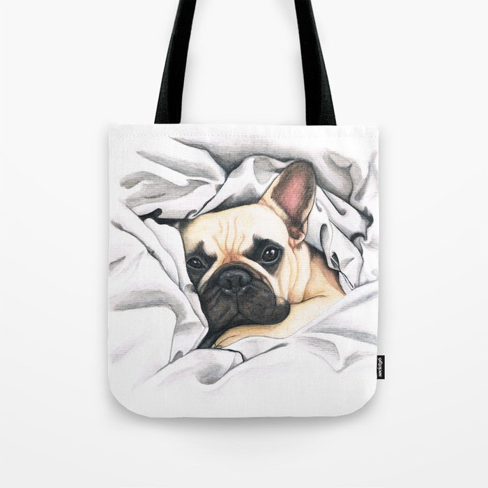 French Bulldog - F.I.P. - Miuda Frenchie Tote Bag