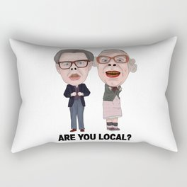 Tubbs and Edward League Of Gentlemen Are You Local Rectangular Pillow