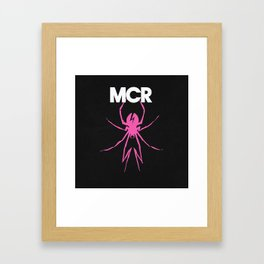 My Chemical Romance - Danger Days Spider Framed Art Print