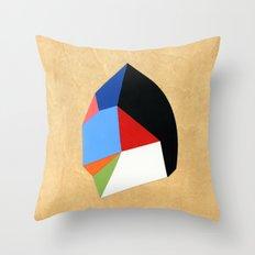 6x6 Shape No:01 Throw Pillow