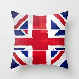 Brexit UK Throw Pillow