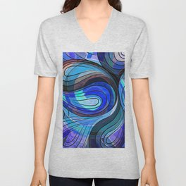So Nothing Is Created Perfect - Jacuzzi Lagoon Unisex V-Neck