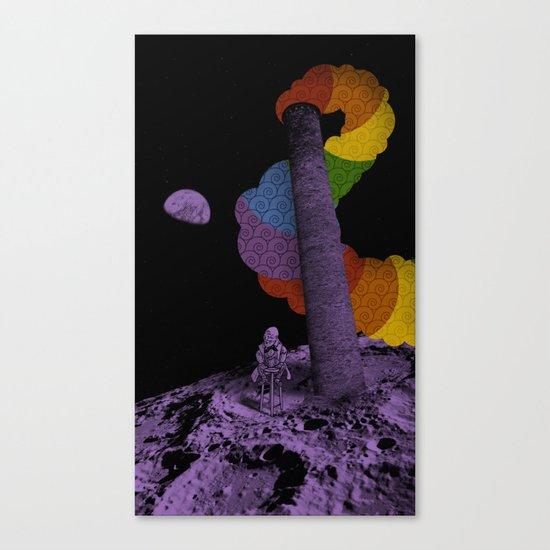 Lunar Variegation Phenomenon Canvas Print