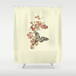 There are worse things than birdwatching Shower Curtain