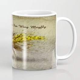 Yellow Fan Wing Mayfly Coffee Mug
