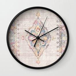 Antique Persian Rug - light color Wall Clock