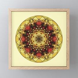 Sacred Geometry Mandalas 4 Framed Mini Art Print