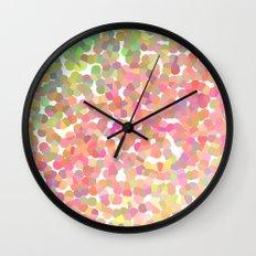 Confetti Colors Wall Clock