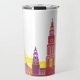 Groningen skyline pop Travel Mug