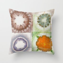 Outjumped Touch Flowers  ID:16165-005620-67491 Throw Pillow