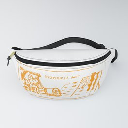 Modern art (splatoon) Fanny Pack