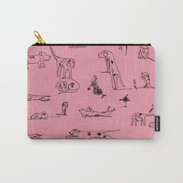 Ugly Hounds-Sketchbook Carry-All Pouch