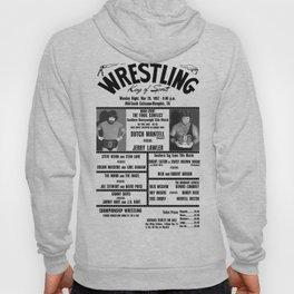 #16 Memphis Wrestling Window Card Hoody