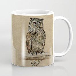 Paper Bag Owl Coffee Mug
