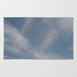 Spring Evening Sky // Cloud Photography Rug