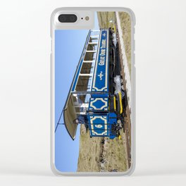 Great Orme tram Clear iPhone Case