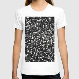 Black and white Galaxy T-shirt
