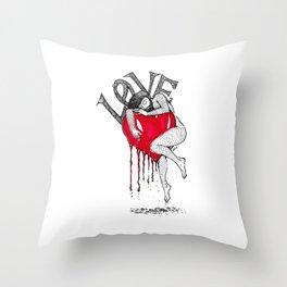 Precious Throw Pillow