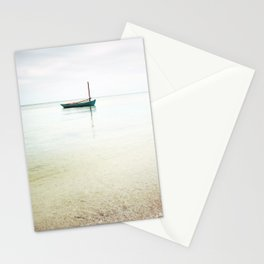 Moored / Beach Photography Stationery Cards