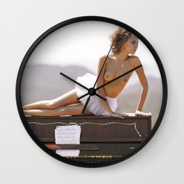 Broken Doll VII Wall Clock