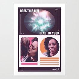 Doctor Who - Feel Art Print