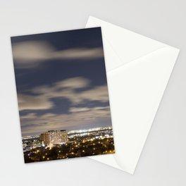 City Lights. Stationery Cards