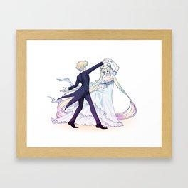 Moonlit Waltz Framed Art Print