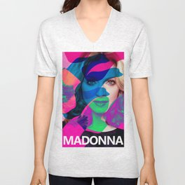 Pop Music Icona Pop Art Print Unisex V-Neck
