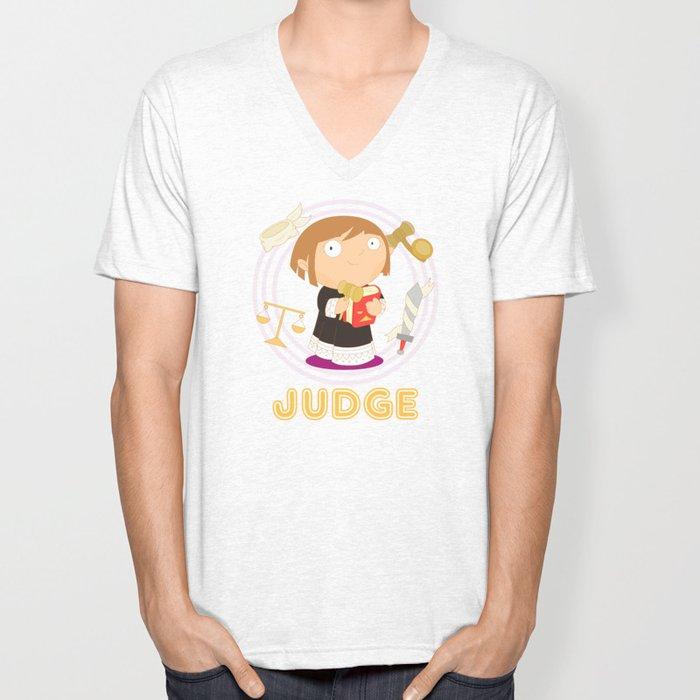 Judge Unisex V-Neck