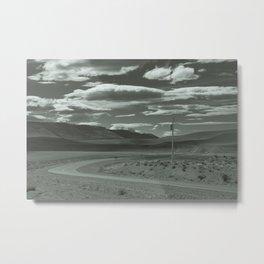 Lonely Road Metal Print