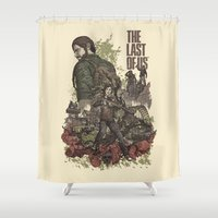 last of us Shower Curtains featuring The Last of Us Artwork by fardeen
