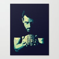 house md Canvas Prints featuring HOUSE MD by Bianca Lopomo