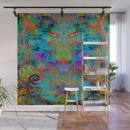 Dragon Smoke Wall Mural