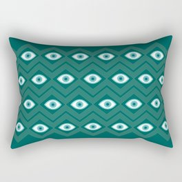 diamond eye Rectangular Pillow