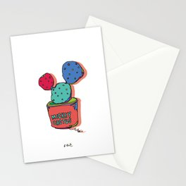 mickey cactus Stationery Cards