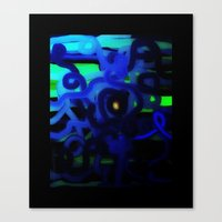 dot Canvas Prints featuring DOT by mimulux