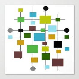 Mid-Century Modern Art 1.3.2 Canvas Print