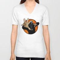 hocus pocus V-neck T-shirts featuring Hocus Pocus V2 by Matthew Dunn