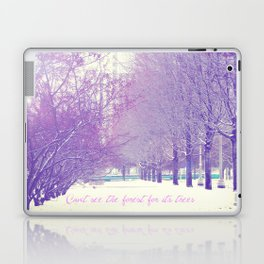 Can't see the forest for its trees Laptop & iPad Skin